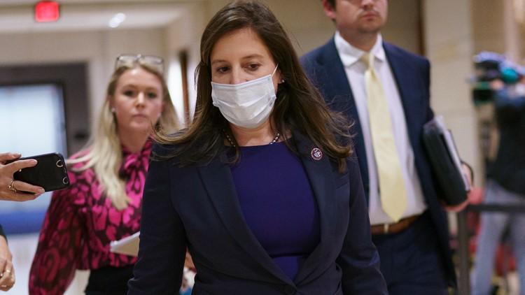 House GOP elects Trump defender Elise Stefanik to No. 3 post