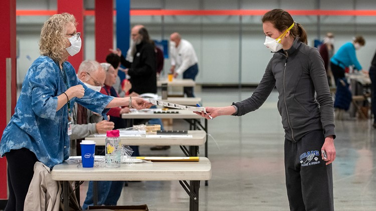 Wisconsin votes despite stay-at-home order, returning large number of absentee ballots