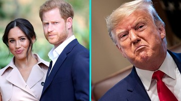 Prince Harry and Meghan Markle Have 'No Plans' to Ask US for Security as Trump Tweets 'They Must Pay'