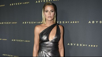 Khloe Kardashian Steps Out in Sexy Gown With the Most Daring Leg Slit Ever: Pics