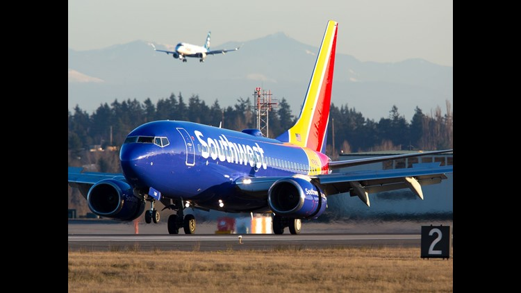 Southwest Flight Makes Emergency Landing After Window Cracks, No Injuries Reported