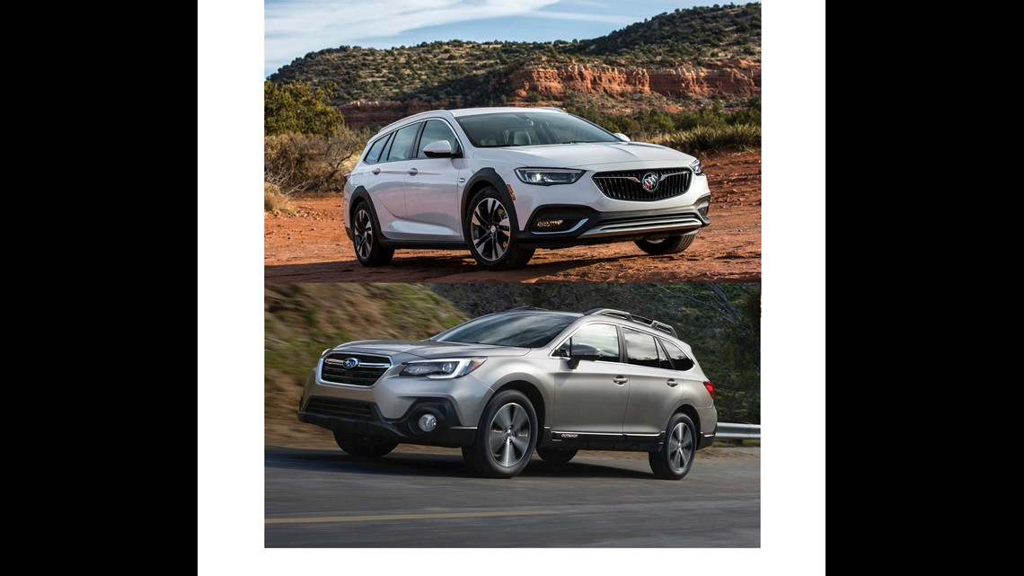 Comparing Sport Wagons Edmunds Looks At Subaru Outback And Buick Regal Tourx