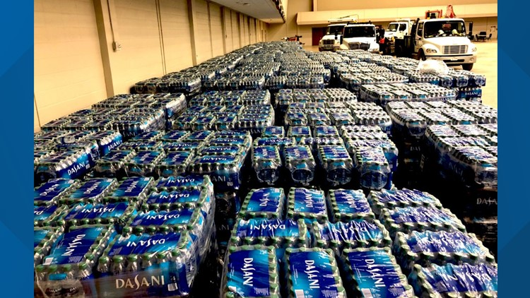 Coca-Cola donates six 18-wheelers full of bottled water to City of Waco