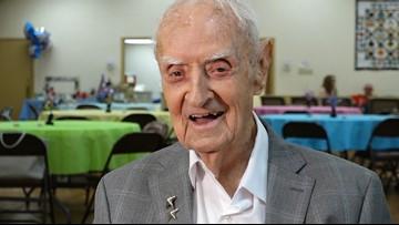 Good, clean living: WWII veteran celebrates 100th birthday