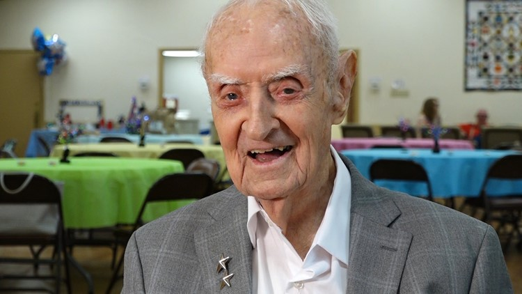 Good, clean living: WWII veteran celebrates 100th birthday