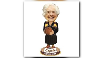 Sister Jean bobblehead sales break record as Loyola enters Final Four