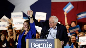 Solidifying front-runner status, Bernie Sanders wins Nevada Democratic caucuses