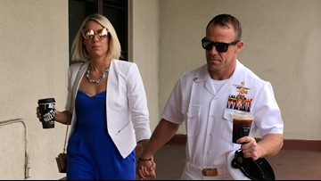 Jury finds Navy SEAL not guilty of murdering Islamic State prisoner