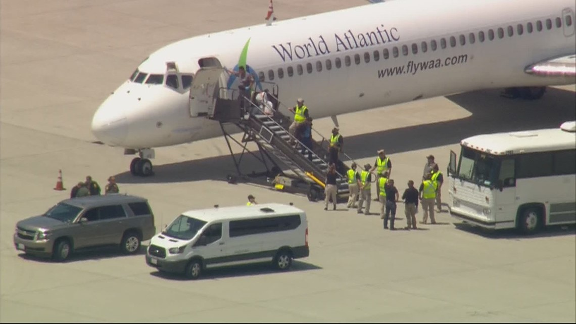 People who entered the U.S. illegally in Texas flown to San Diego