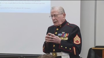 Veterans Day: War heroes share stories with students