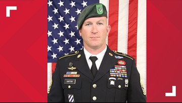 Decorated US service member killed in action in Afghanistan