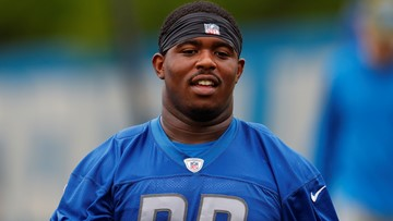 Detroit Lions rookie plays for dad battling lung cancer
