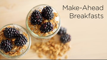 4 Make-Ahead Breakfast Recipes