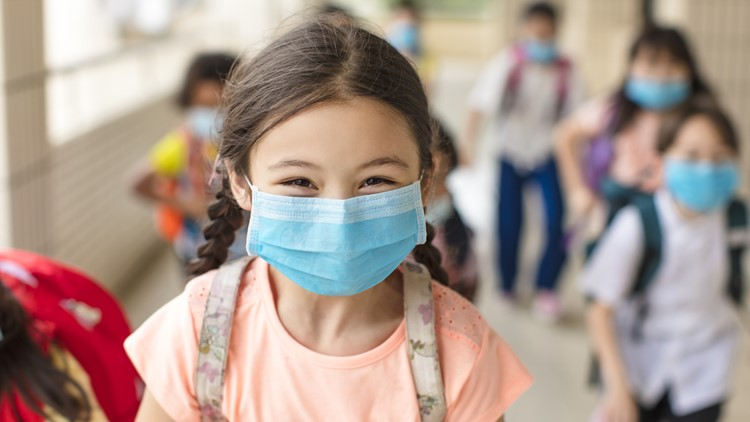 Can kids be harmed wearing masks to protect against COVID?