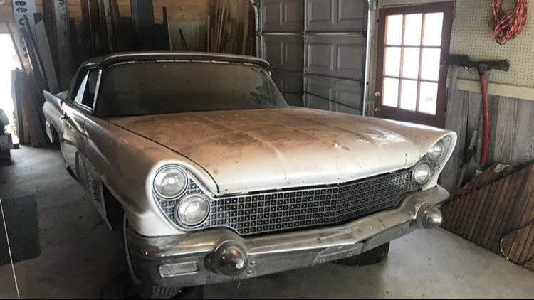 Michigan man believes his 1960 Lincoln may be Jimmy Hoffa ...