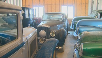 Farmer's eclectic collection of classic cars to go up for auction