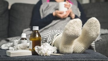 I think I have the flu, what should I do?