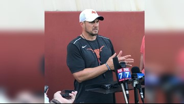 Texas Longhorns coach Tom Herman responds to strip club visit reports