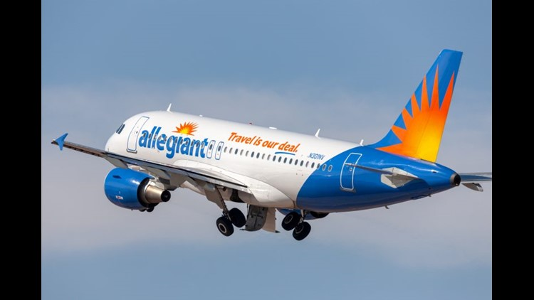 It doesn't get much more boring than the inside of an Allegiant Airbus A319 or A320. (Image by Ryan Fletcher/Shutterstock)