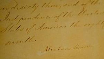 Today is the 157th anniversary of the Emancipation Proclamation taking effect