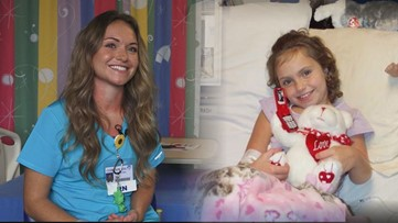'It made me a fighter'   Woman accomplishes lifelong dream of being a nurse after battling leukemia