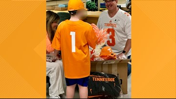 'The joy on that young man's face was priceless'   UT fan bullied for homemade shirt gets Big Orange delivery