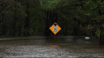 Two women die after van overtaken by floodwaters in SC