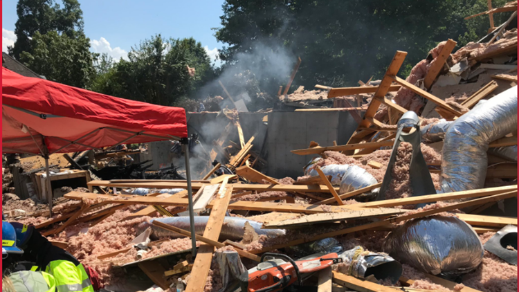 Ballantyne explosion / Photo: Medic