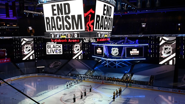 NHL playoffs return after 2-day break for protests