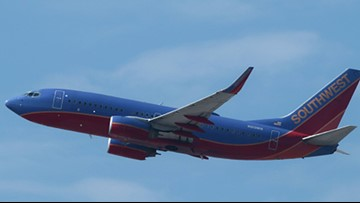 Human heart left on Dallas-bound Southwest flight