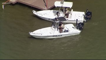 'Daddy went swimming': Girl, 3, found alone on boat on Texas lake