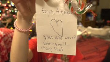 'They are still not forgotten' | 8-year-old's number one Christmas wish is to thank veterans