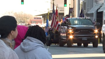 Grand Rapids pays tribute to veterans with annual Veterans Day Parade