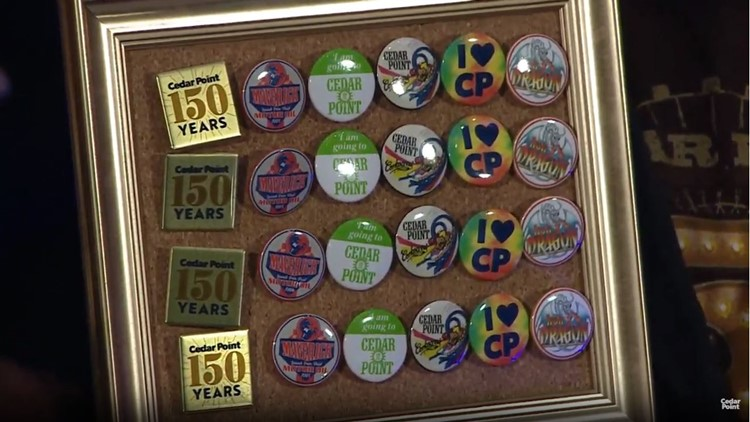 Cedar Point launches button trading for 2020
