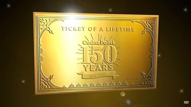 Cedar Point ticket of a lifetime 2020
