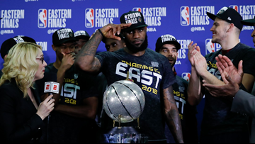 Cleveland Cavaliers clinch fourth straight NBA Finals appearance with Game 7 win over Boston Celtics
