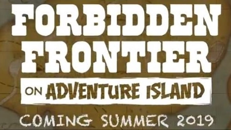 Cedar Point announces 'Forbidden Frontier' for 2019 as Dinosaurs Alive! closes forever