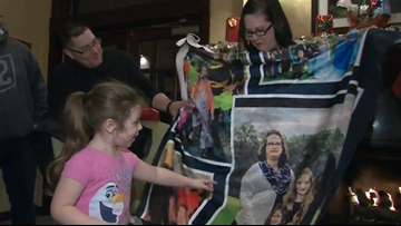 Local organizations surprise Ohio veteran's family with early Christmas