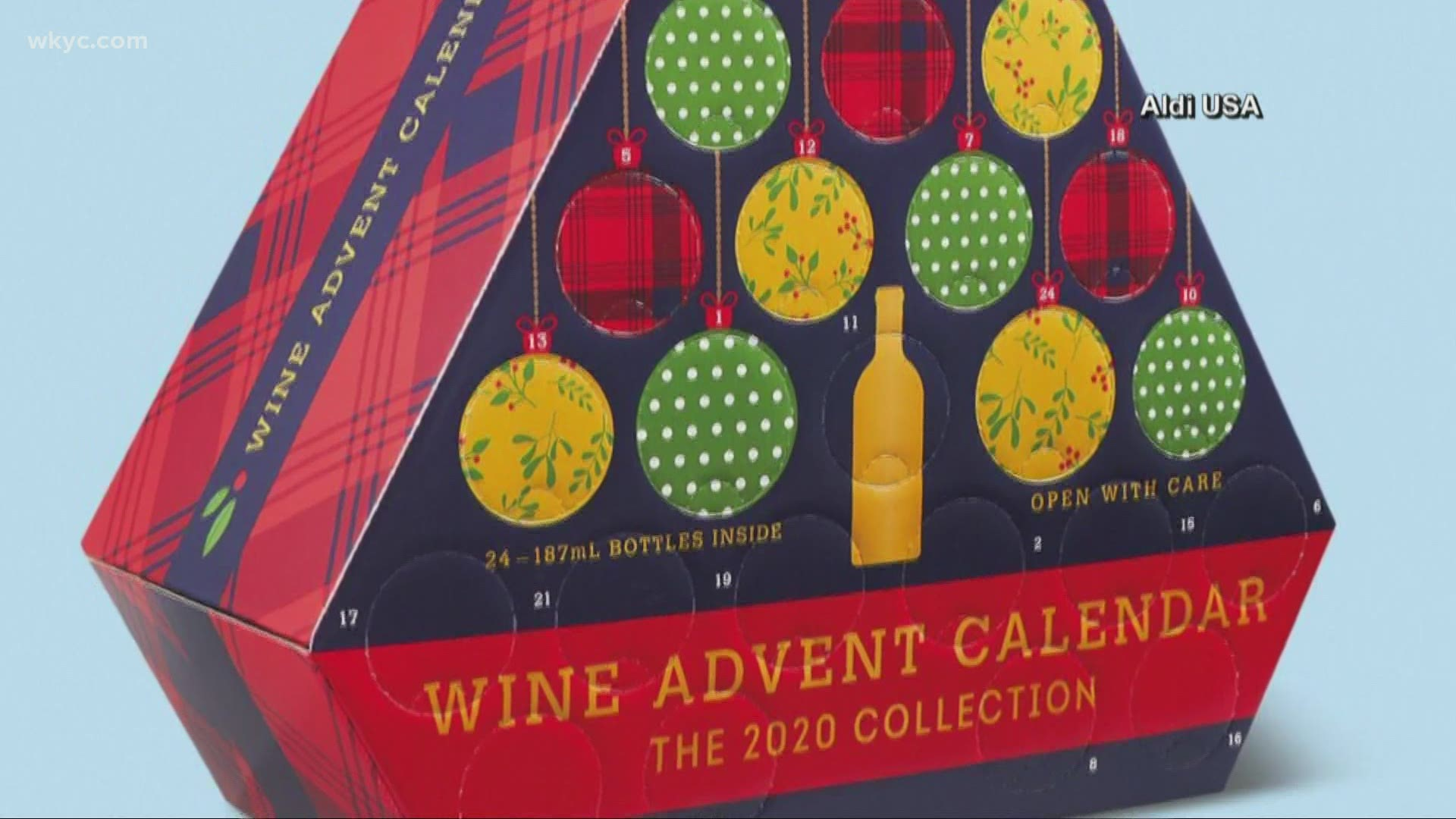 When Does Aldi S Wine Advent Calendar Go On Sale Wzzm13 Com