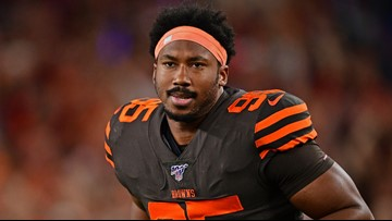 Myles Garrett's indefinite suspension upheld by NFL