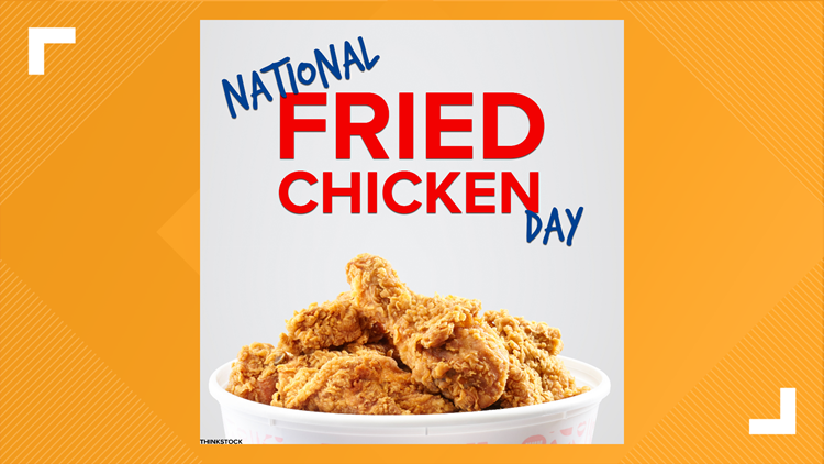 National Fried Chicken Day 2021 deals and offers