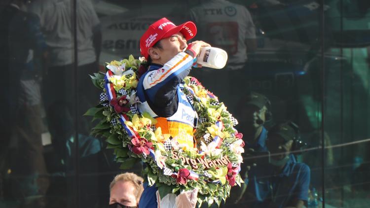 PHOTOS: Takuma Sato wins second Indianapolis 500