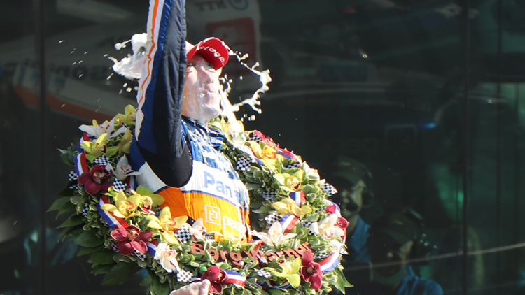 WTHR Race Day Blog: Takuma Sato wins 2nd Indy 500