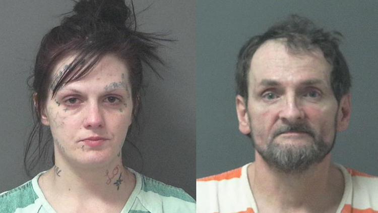 Indiana couple arrested after 3-year-old daughter tests positive for meth, fentanyl