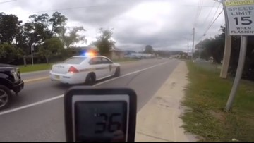 WATCH: Jacksonville deputy allegedly caught speeding in school zone, arguing with man for filming it