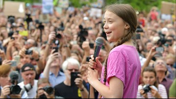 Reports: Climate activist Greta Thunberg is favored to win the Nobel Peace Prize