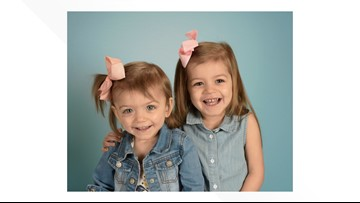 2 Ohio sisters diagnosed with rare disease in need of bone marrow transplant