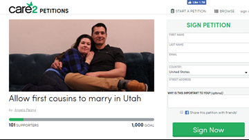 Two first cousins say they're in love and are petitioning to get legally married