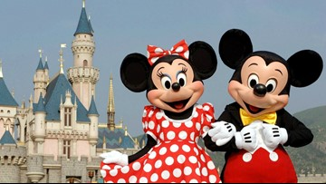 Disney characters accuse tourists of groping them