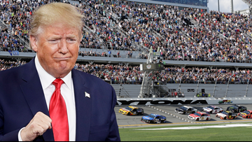 Trump will give the 'start your engines' command at Daytona 500